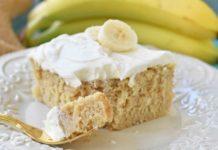 prajitura cu banane