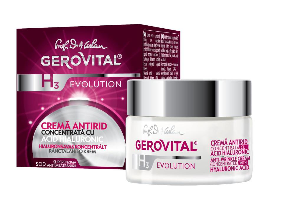 Crema Gerovital antirid