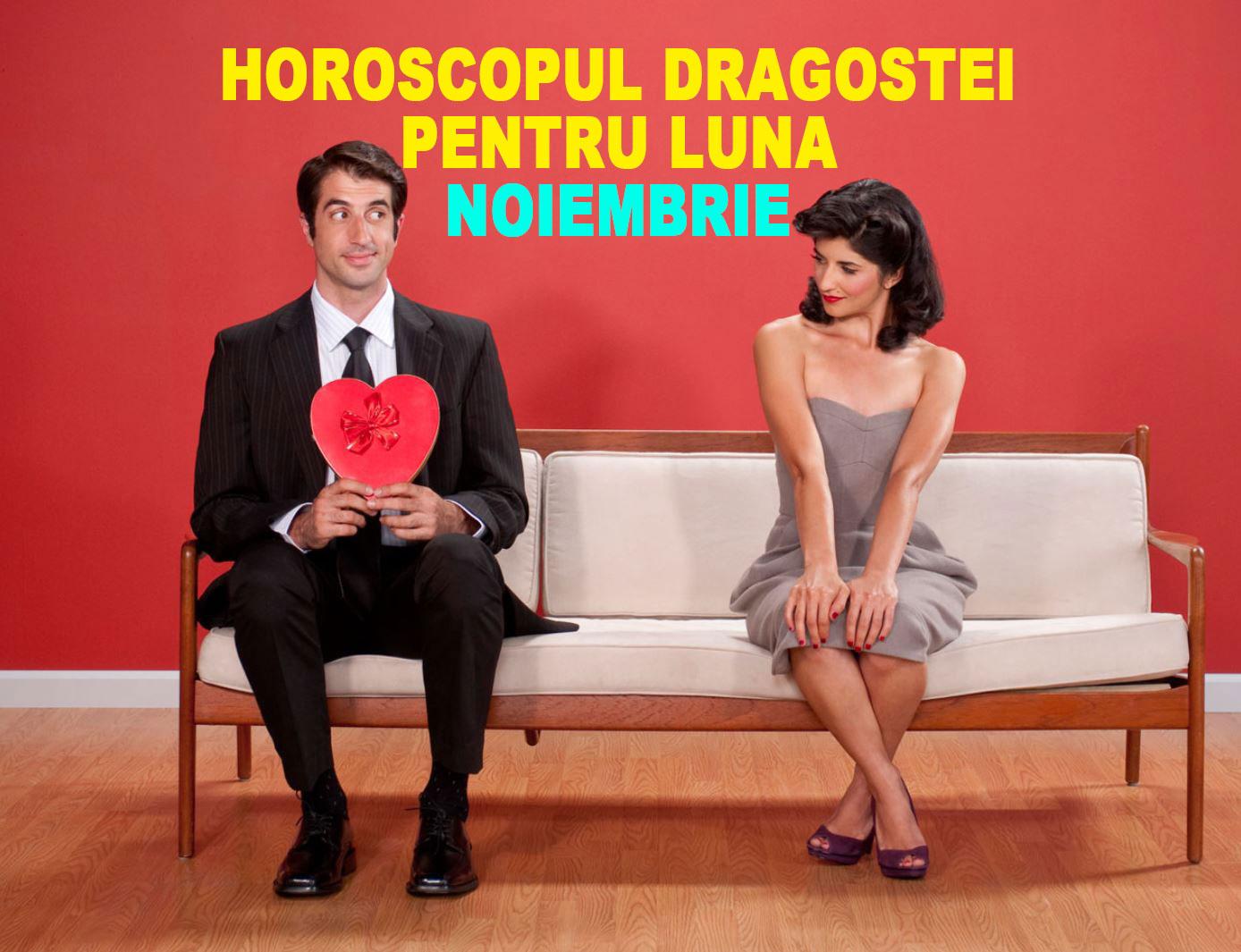 Horoscopul dragostei pentru luna Noiembrie 2019