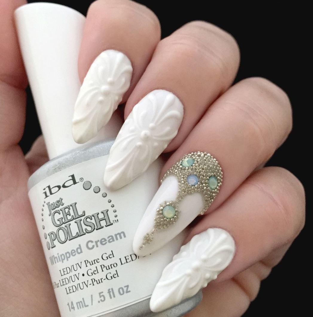 unghii cu gel 3D