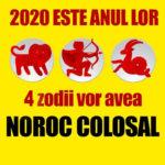 2020 este anul lor! 4 zodii vor avea noroc colosal