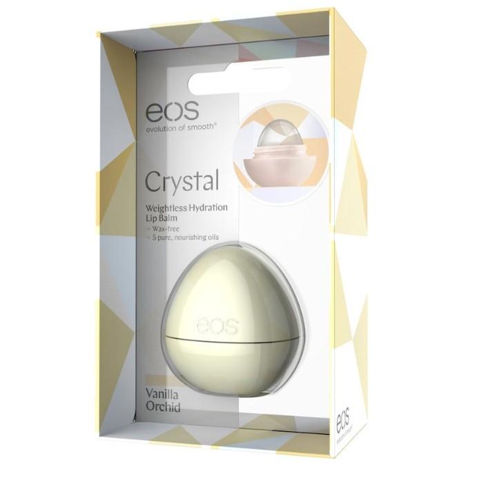 Balsam de buze EOS crystal vanilla orchid