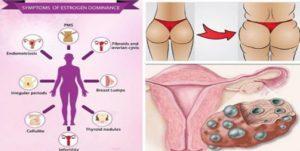 Dominanta de estrogen poate fi o problemă gravă provocată de lipsa nutrienților în organism