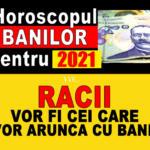 Horoscopul banilor pentru 2021