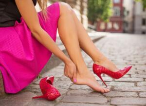 Stiai ca daca porti pantofi cu toc, capacitatea de concentrare scade
